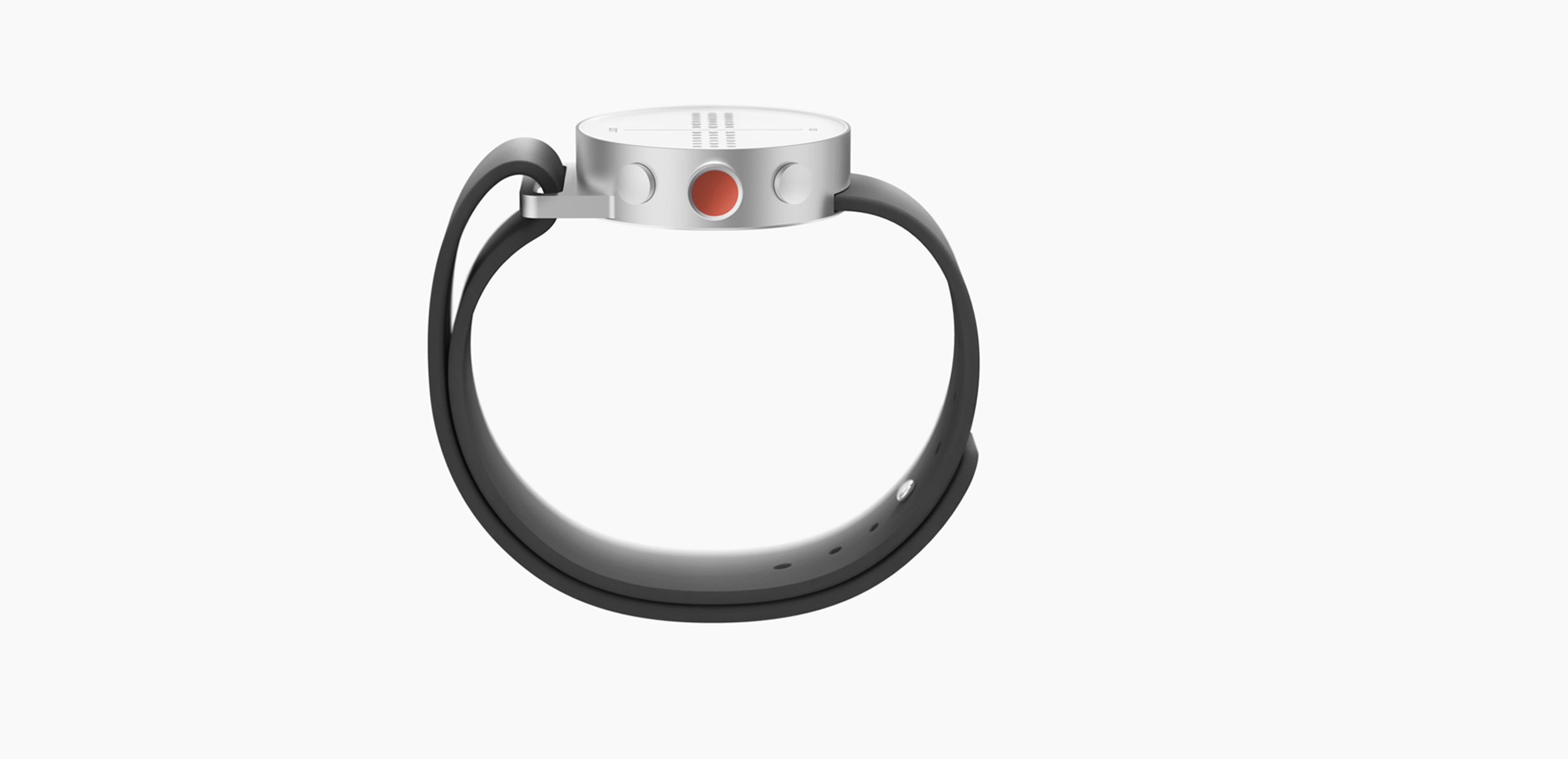Dot smartch vista lateral botones