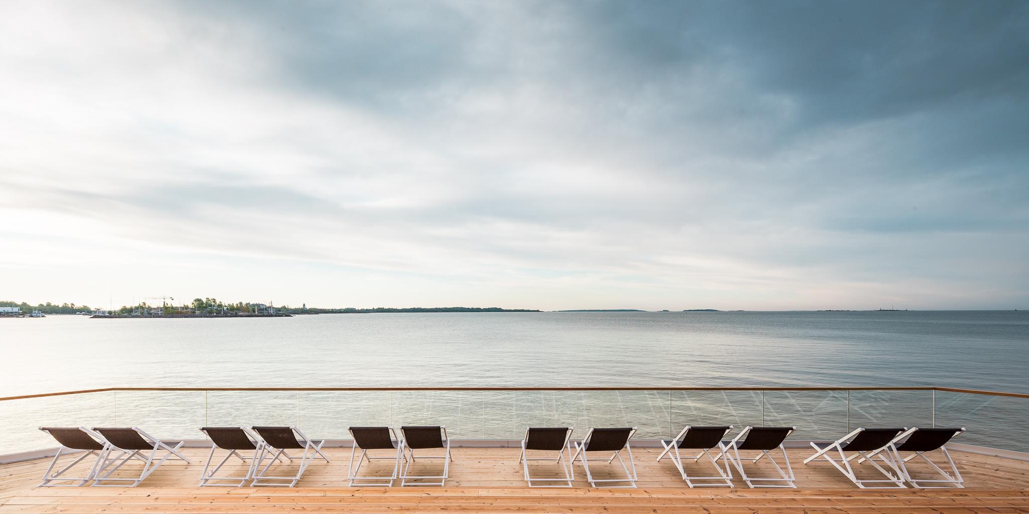 vistas al mar desde la terraza de Löylyl