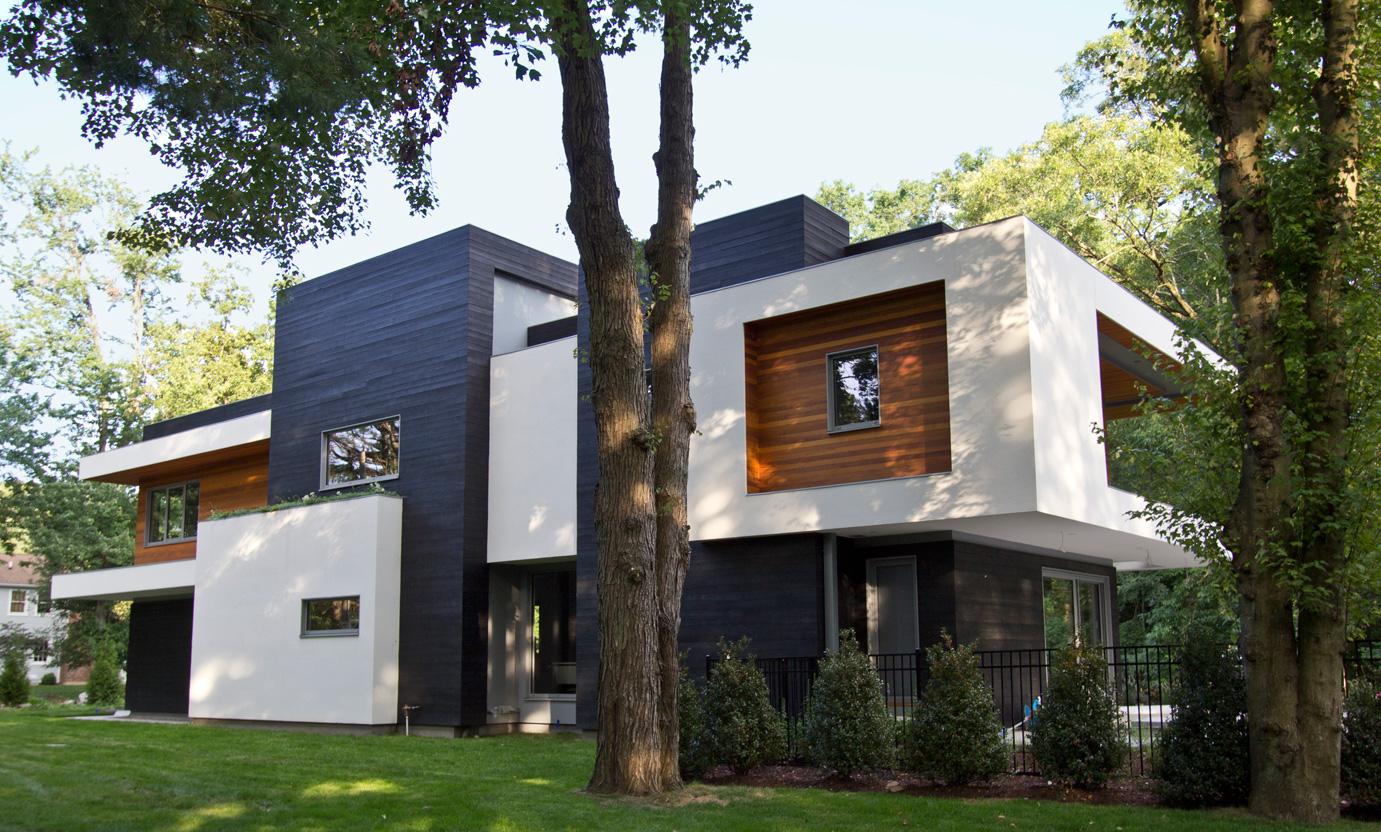 Vista lateral casa diseña por los Arquitectos de Vita Design Group