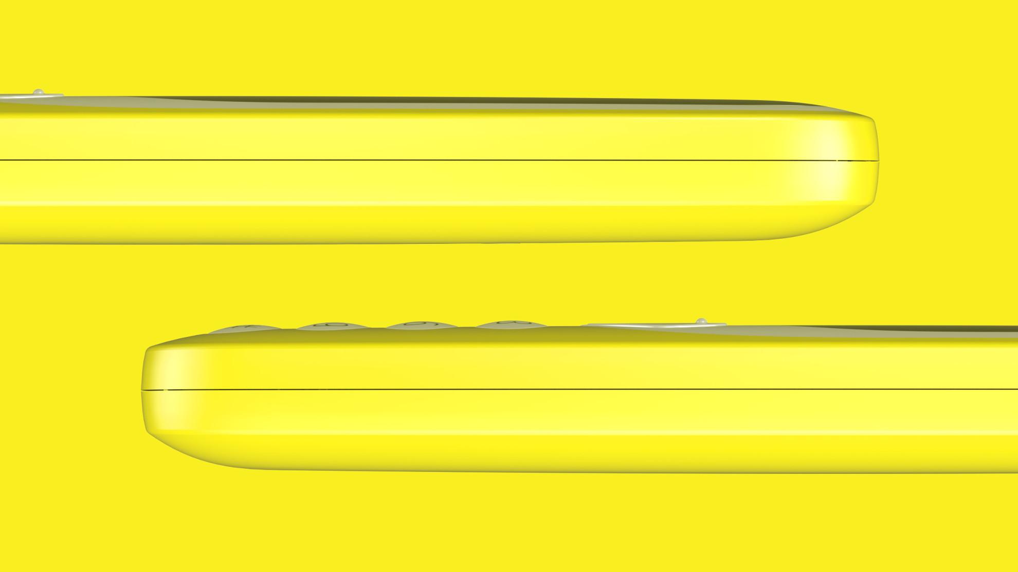 Nokia 3310 amarillo