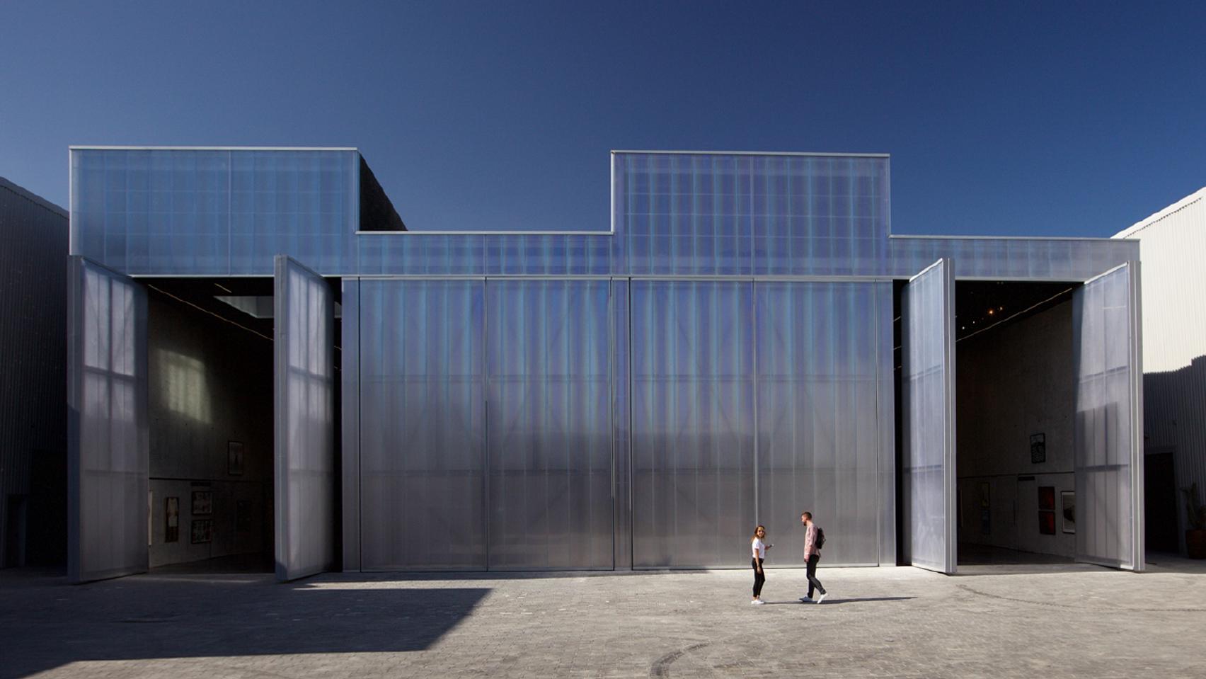 Galeria Exposiciones Dubai obra del estudio OMA